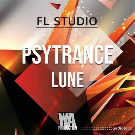 WA Production Psytrance Luna WAV MiDi Synth Presets DAW Templates