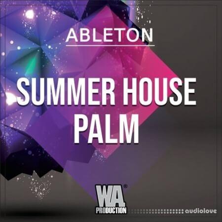 WA Production Summer House Palm WAV MiDi Synth Presets DAW Templates