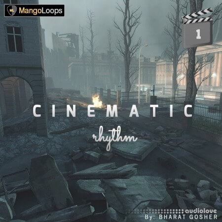 Mango Loops Cinematic Rhythm Vol.1 WAV AiFF