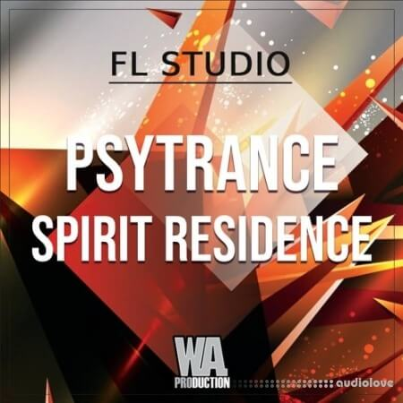 WA Production Psytrance Spirit Residence (FL Studio) WAV MiDi Synth Presets DAW Templates