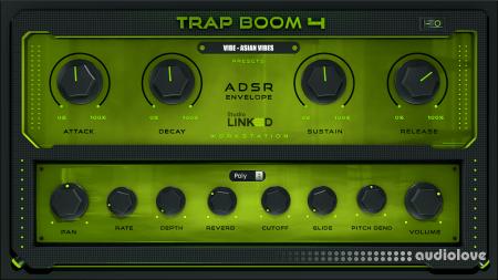 StudioLinkedVST Trap Boom 4 v1.0 WiN MacOSX