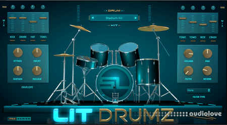 StudioLinkedVST Lit Drumz v1.0 WiN MacOSX