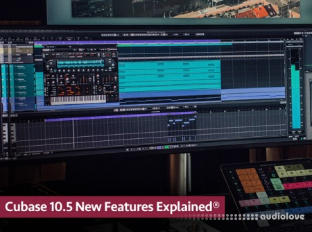 Groove3 Cubase 10.5 New Features Explained® TUTORiAL