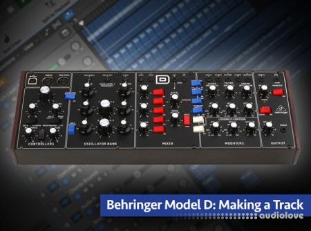 Groove3 Behringer Model D Making a Track TUTORiAL