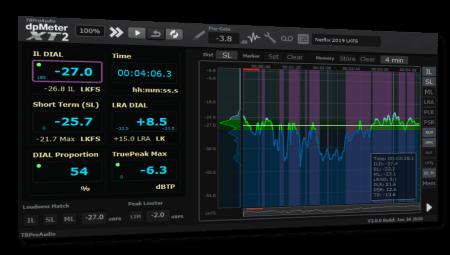 TBProAudio dpMeterXT2 v2.0.1 / v2.0.6 WiN MacOSX