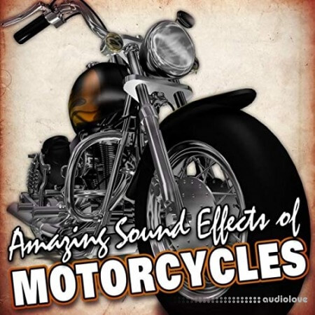 Hot Ideas Sound FX Amazing Sound Effects of Motorcycles WAV