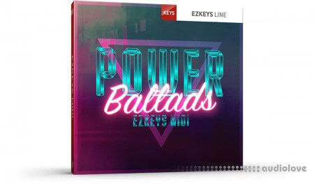 Toontrack Power Ballads EZkeys