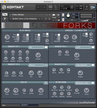 Particle Sound Forks KONTAKT