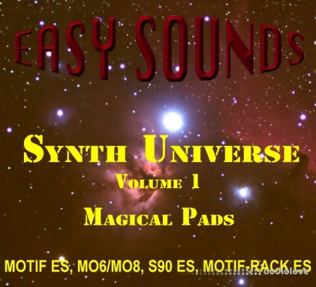 Easy Sounds Magical Pads Yamaha Motif Synth Presets
