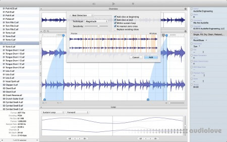 Audiofile Engineering Loop Editor v2.1.3 MacOSX
