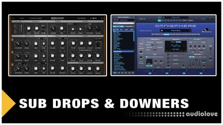 SkillShare Sound Design Sub Drops and Downers TUTORiAL