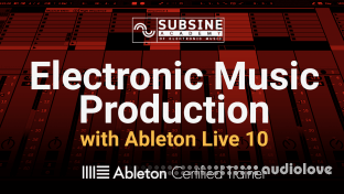 subSine Academy Electronic Music Production with Ableton Live 10