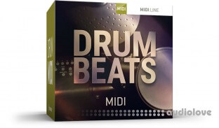 Toontrack Drum Beats MIDI