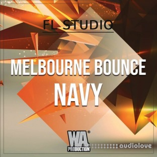 WA Production Melbourne Bounce Navy