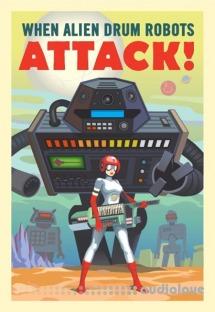 Goldbaby When Alien Drum Robots Attack
