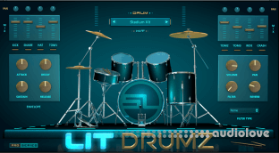 StudioLinkedVST Lit Drumz