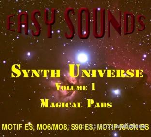 Easy Sounds Magical Pads Yamaha Motif