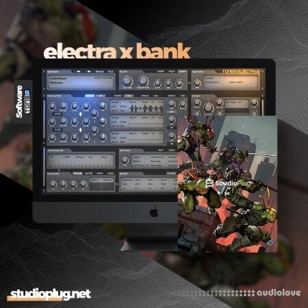 StudioPlug TMNT (Electra X Bank) Synth Presets
