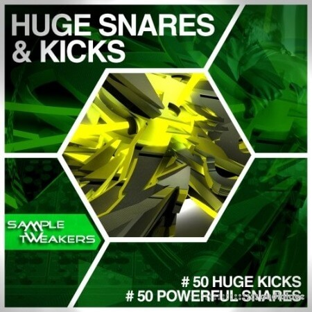 Sample Tweakers Huge Snares and Kicks WAV
