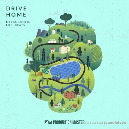 Production Master Drive Home Melancholic Lo-fi Beats WAV