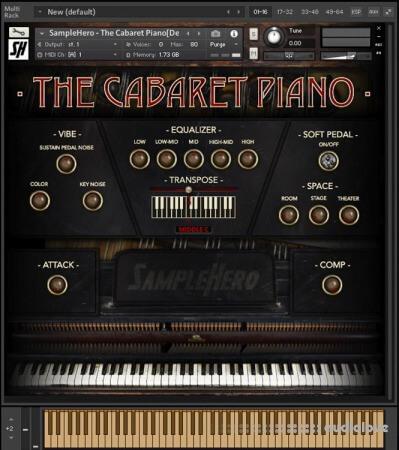 SampleHero The Cabaret Piano KONTAKT