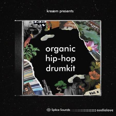 Splice Sounds kreaem organic hip hop drumkit Vol.2 WAV