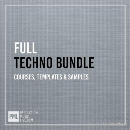 Production Music Live Techno Bundle Full for Ableton Live