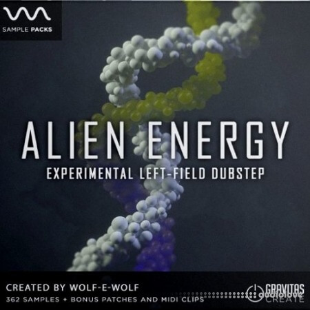 Gravitas Create Alien Energy WAV MiDi Synth Presets