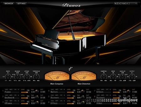 Muze Pianos v1.2 KONTAKT
