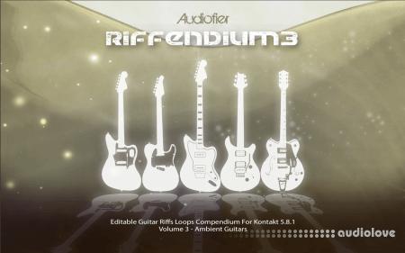Audiofier Riffendium 3 KONTAKT