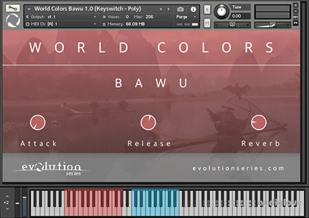 Evolution Series World Colors Bawu v1.0 KONTAKT