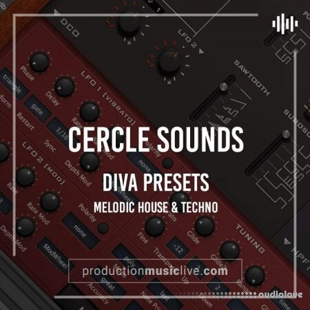 Production Music LiveCercle Cercle Sounds Melodic House and Techno MiDi Synth Presets
