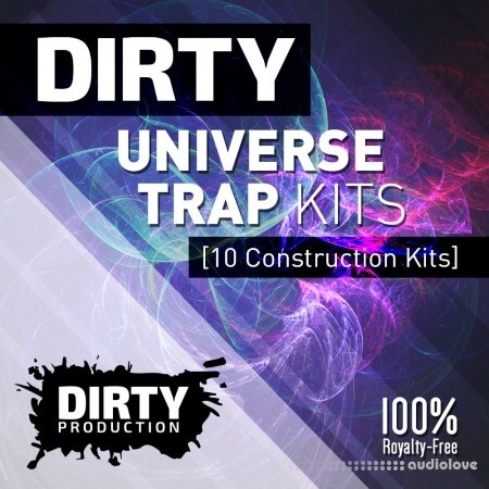 Dirty Production Dirty Universe Trap Kits WAV MiDi