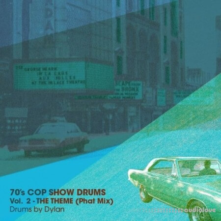 Dylan Wissing 70's COP SHOW DRUMS Vol.2 The Theme (Phat Mix) WAV