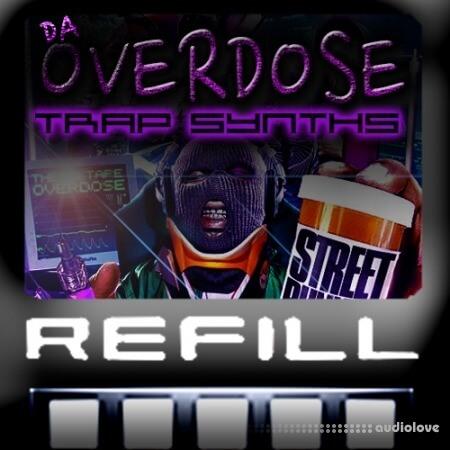 DNA Labs Software Da Overdose Trap Synths ReFill