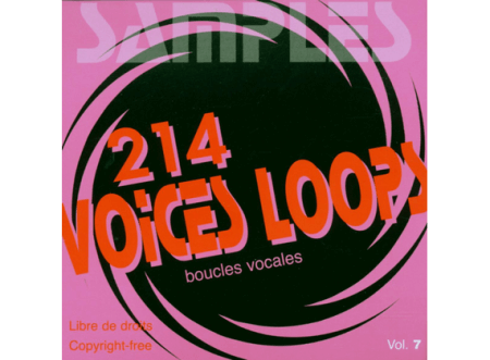 Illustrations Sonores Samples Voices Loops (Boucles Vocales) WAV