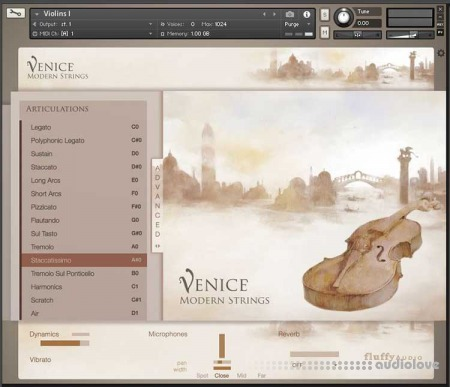 Fluffy Audio Venice Modern Strings KONTAKT