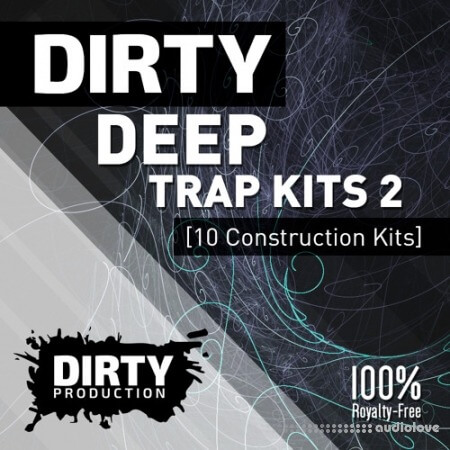 Dirty Production Dirty Deep Trap Kits 2 WAV MiDi Synth Presets