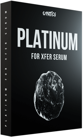 Cymatics Platinum For Xfer Serum Synth Presets