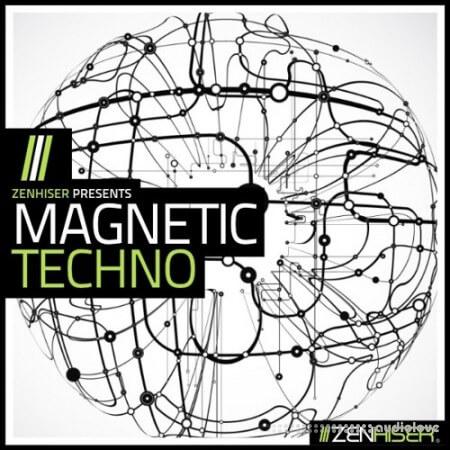Zenhiser Magnetic Techno WAV MiDi