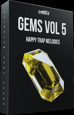 Cymatics GEMS Vol.5 Happy Trap Collection WAV MiDi