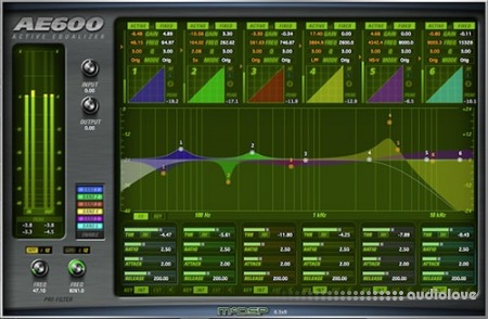 McDSP AE600 Active EQ v6.3.0.9 WiN