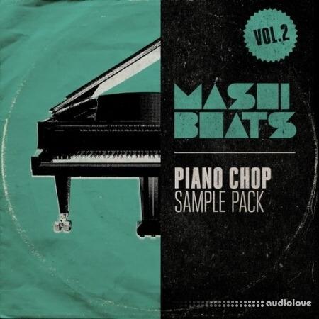 MASHIBEATS Sample Packs Piano Chop Vol.2 WAV