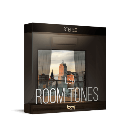 Boom Library Room Tones USA WAV