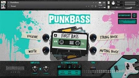 Submission Audio Punk Bass KONTAKT