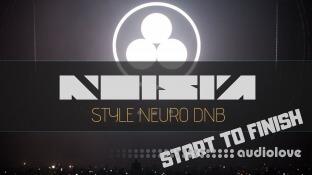 Letsynthesize Noisia Style Neuro Drum and Bass Start to Finish