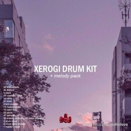 XEROGI Drum Kit (with melody pack) WAV DAW Templates