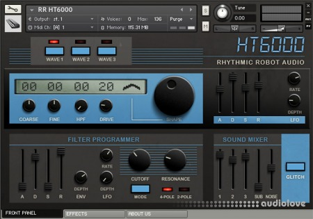 Rhythmic Robot Audio HT 6000 KONTAKT