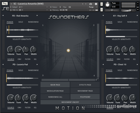 Soundethers Motion KONTAKT