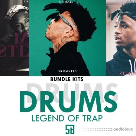 SHOBEATS Bundle Legend Of Trap (Drumkits) WAV